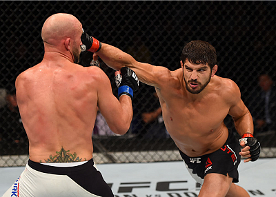 Patrick Cote and Josh Burkman